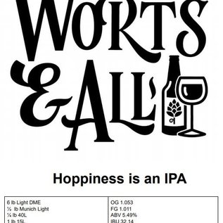 Hoppiness is an IPA - 5Gal Extract Kit