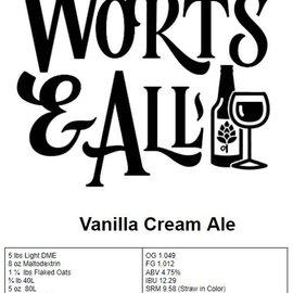 Vanilla Cream Ale - 5Gal Extract Kit