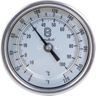 Thermometer 6 in Tri-Clamp