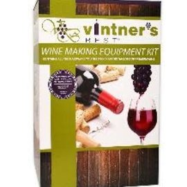 Vintner's Wine Equipment Kit W/6 Gal Glass Carboy