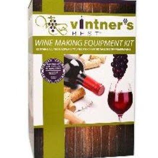 Vintner's Wine Equipment Kit W/6 Gal Glass Carboy