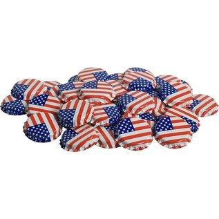 American Flag Caps