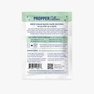 Omega Yeast Propper Seltzer Yeast Nutrient for Hard Seltzers