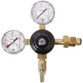 Nitrogen/Argon Regulator - Dual Gauge