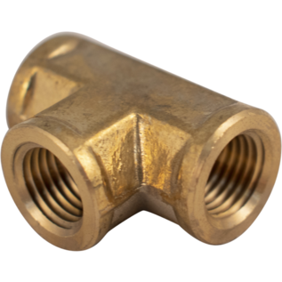 Brass Tee - 1/4 in. FPT