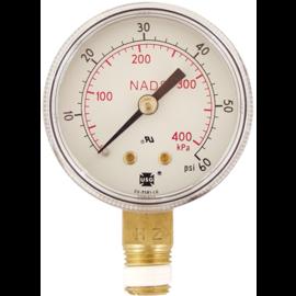 Pressure Gauge - Low Pressure (0-60 psi)