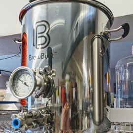 10 Gal Induction W/ Valve & Thermometer
