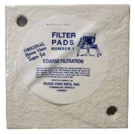 Buon Vino filter Super Pad #1 Coarse 5 Micron (3/Pkg)