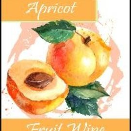 Apricot Wine Labels 30/Pack