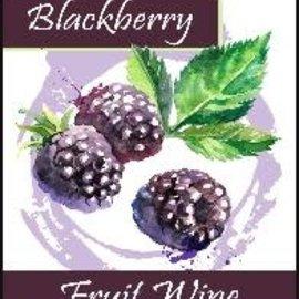 Blackberry Wine Labels 30/Pack