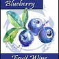 Blueberry Wine Labels 30/Pack
