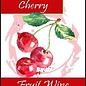 Cherry Wine Labels 30/Pack
