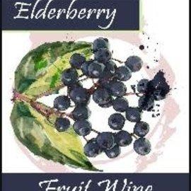 Elderberry Wine Labels 30/Pack