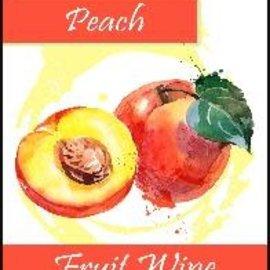 Peach Wine Labels 30/Pack