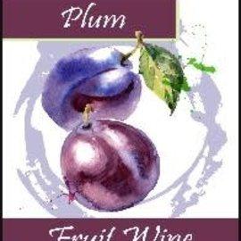 Plum Wine Labels 30/Pack
