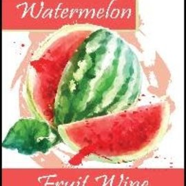 Watermelon Wine Labels 30/Pack