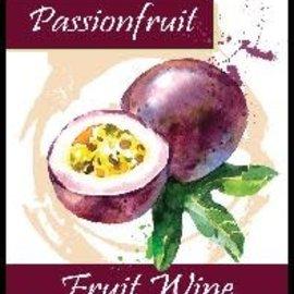 Passionfruit Wine Labels 30/Pack