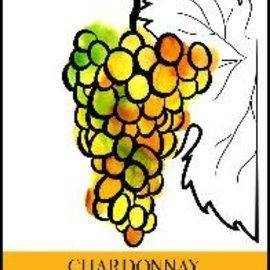 Chardonnay  Wine Labels 30/Pack