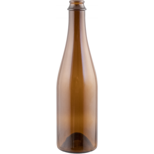 Amber Champagne/Belgian Style Bottle 500ml