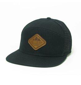 LEGACY LEATHER DIAMOND HAT BLACK 1200013