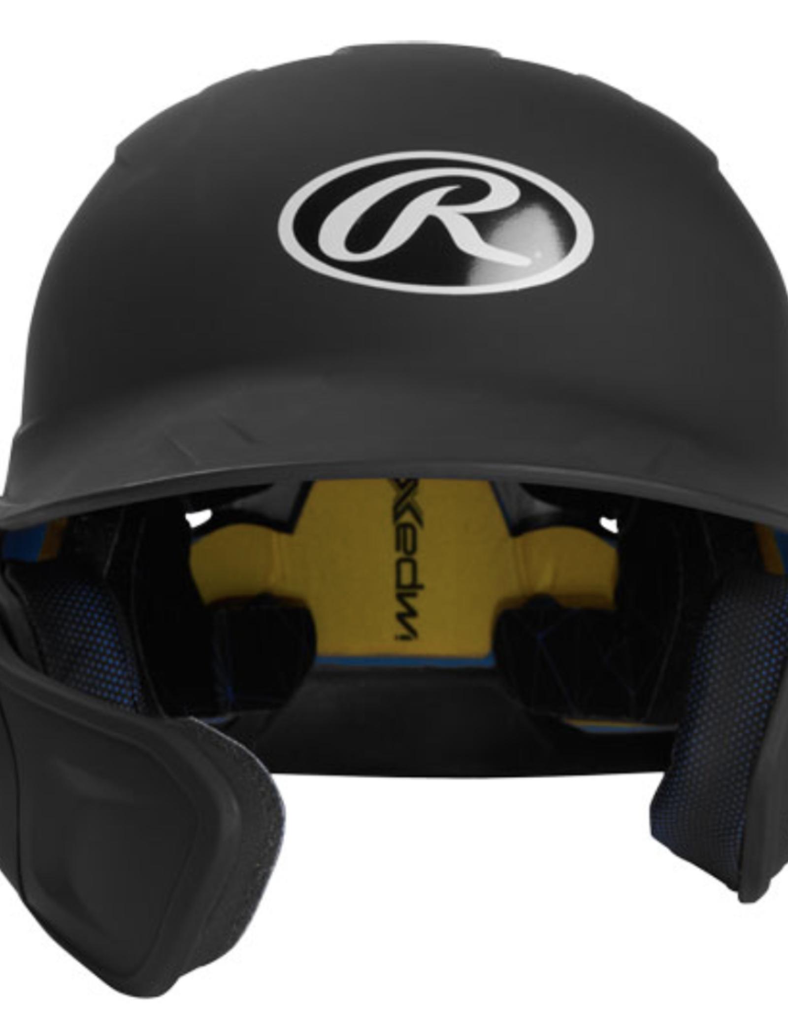 Rawlings Mach batting helmet w/flap