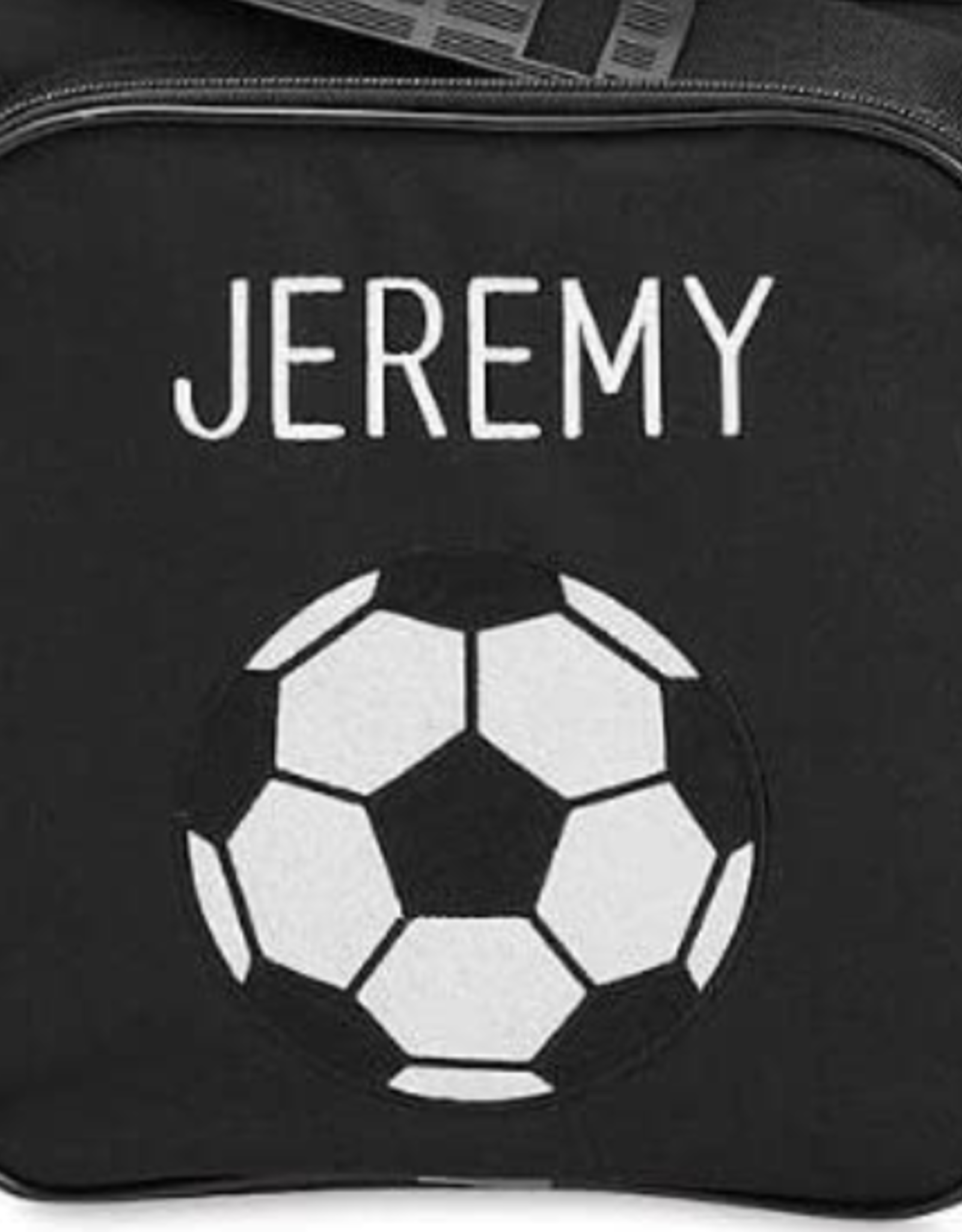 Soccer Bag Embroidery