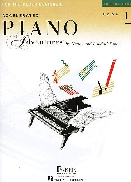 Hal Leonard Hal Leonard Accelerated Piano Adventures for the Older Beginner: Theory Book 1