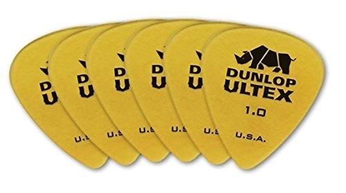 Dunlop Dunlop Ultex Standard 1.0 mm Pick  - 6 Pack