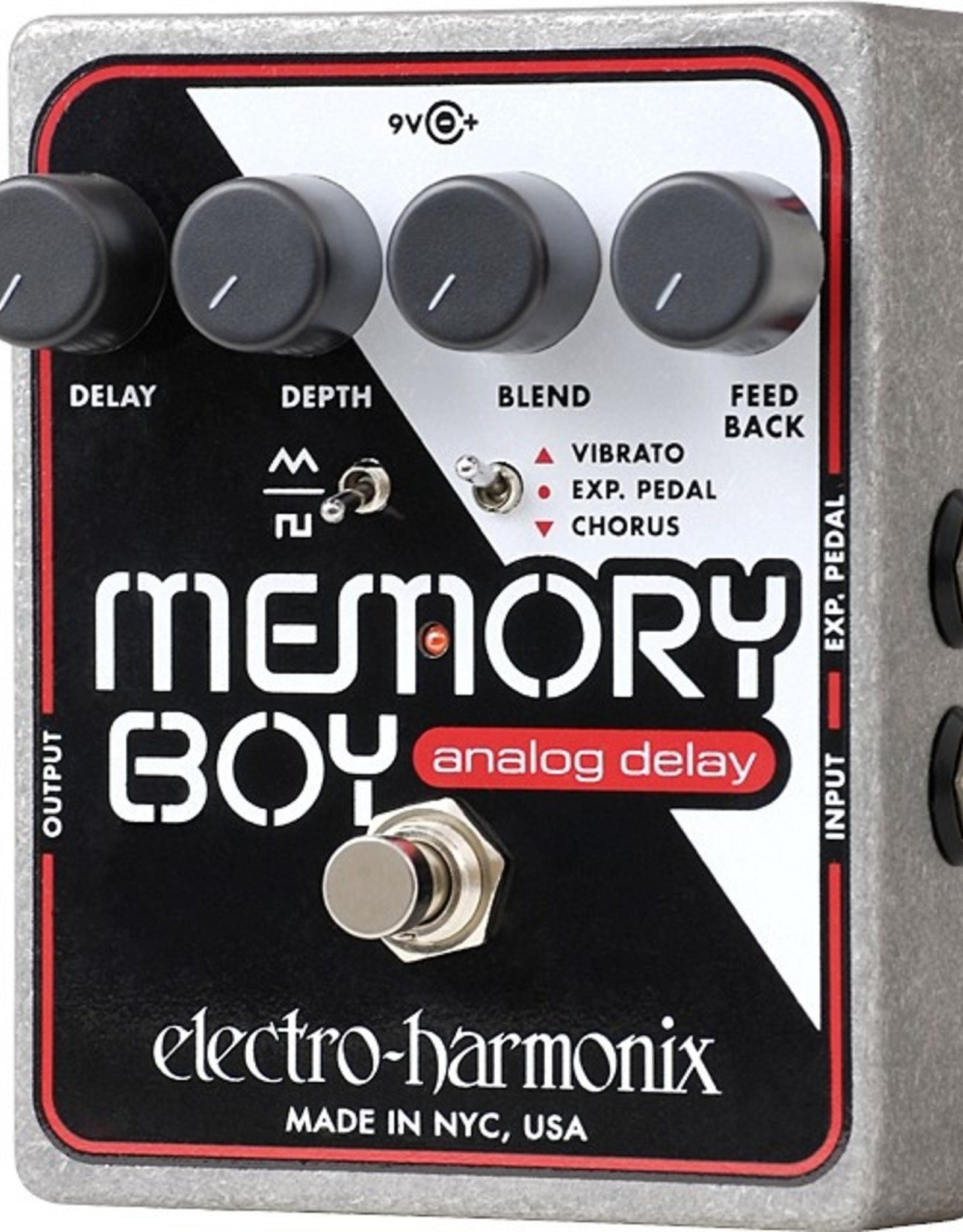 Electro-Harmonix Electro-Harmonix Memory Boy - Analog Echo/Chorus/Vibrato, 9.6DC-200 PSU included