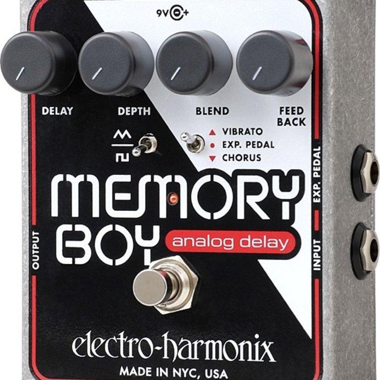 Electro-Harmonix Electro-Harmonix Memory Boy - Analog Echo/Chorus/Vibrato, 9.6DC-200 PSU included