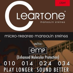 Cleartone Cleartone Mandolin Light Gauge Strings .010 - .034