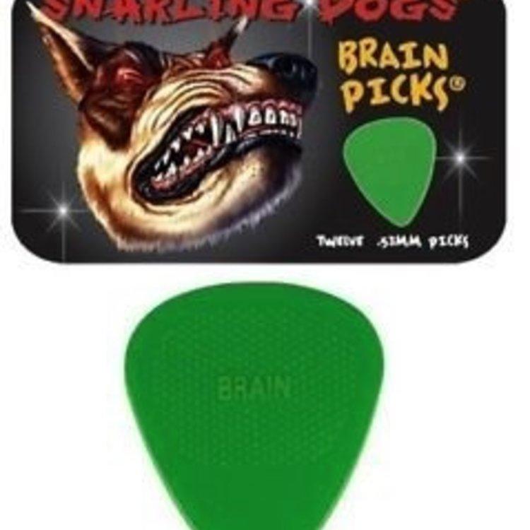 Brain Picks Snarling Dogs 12 Pack .53mm