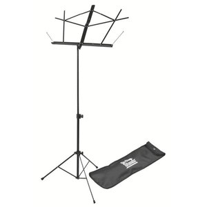 On-Stage On-Stage Sheet Music Stand w/ Carrying Bag — Black