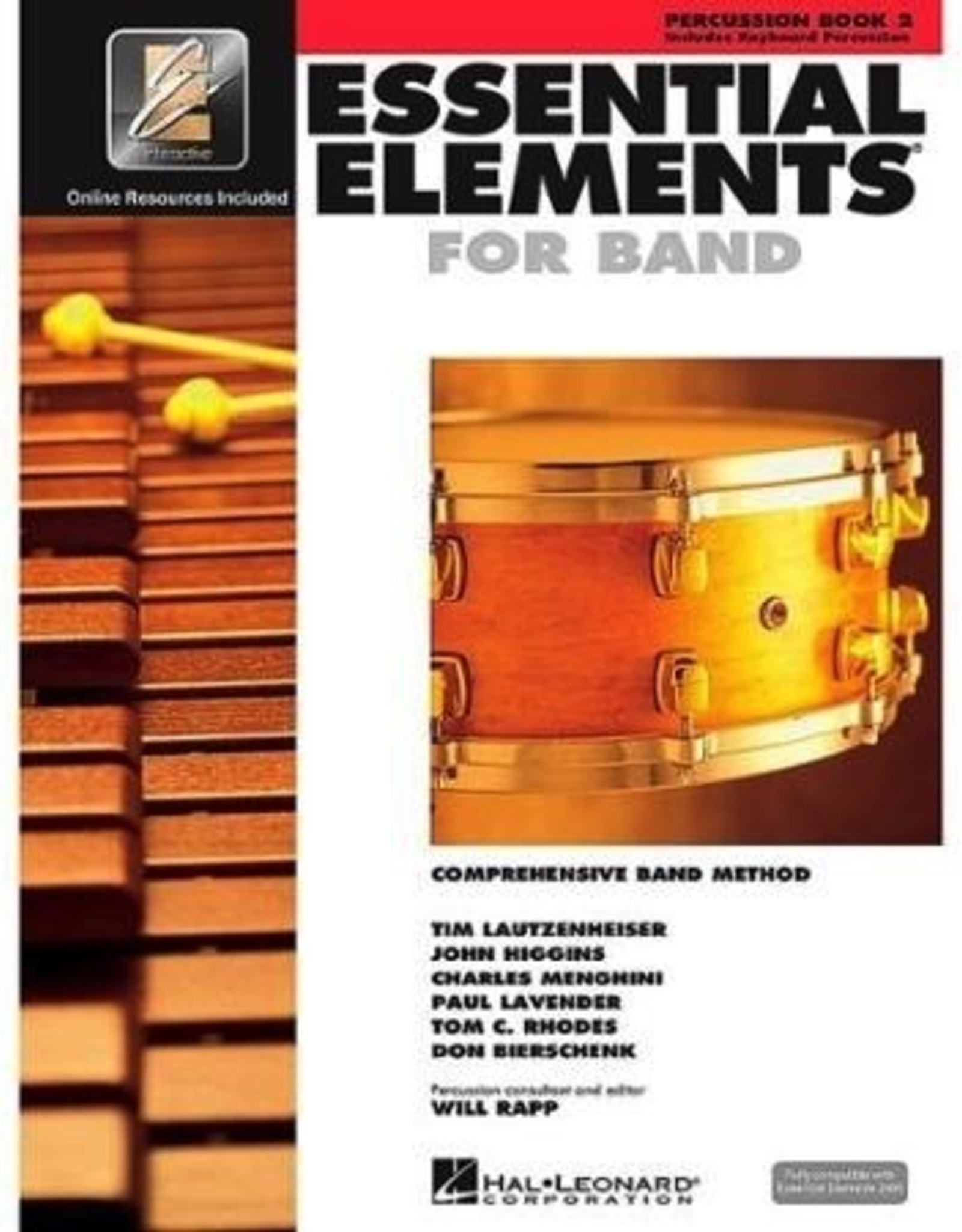 Hal Leonard Hal Leonard Essential Elements – Book 2 (Original Series)  Percussion