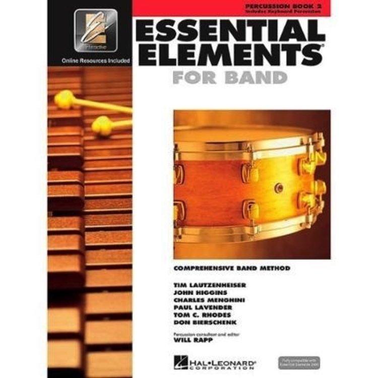 Hal Leonard Hal Leonard Essential Elements – Book 2 (Original Series)  Percussion