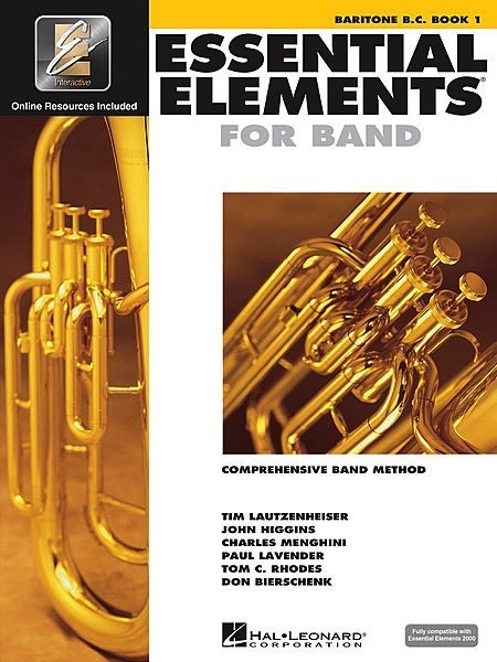 Hal Leonard Hal Leonard Essential Elements for Band – Baritone B.C. Book 1 with EEi