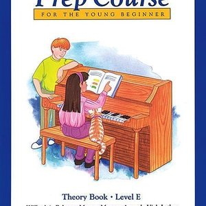 Alfred Music Alfred's Basic Piano Prep Course Theory -Book E