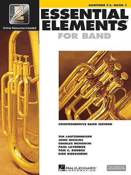 Hal Leonard Hal Leonard Essential Elements for Band – Book 1 with EEi (Baritone T.C.)