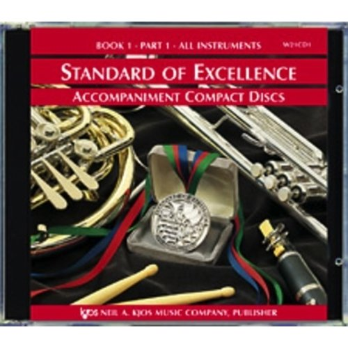 Kjos Standard of Excellence Book 1, CD 1