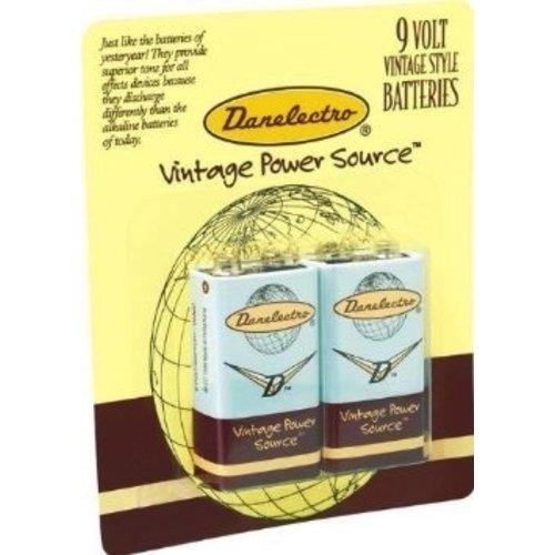Danelectro Danelectro 9v 2pk Batteries