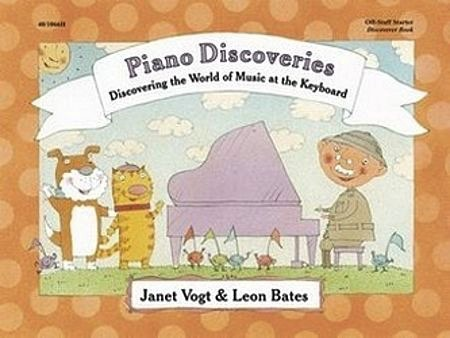 Heritage Music Press Piano Discoveries Off-Staff Starter Book