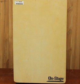 On-Stage On-Stage Fixed Snare Cajon with Gig Bag