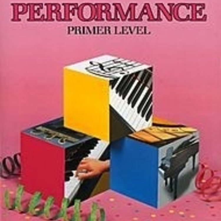 Bastien Bastien Piano Basics, Primer, Performance
