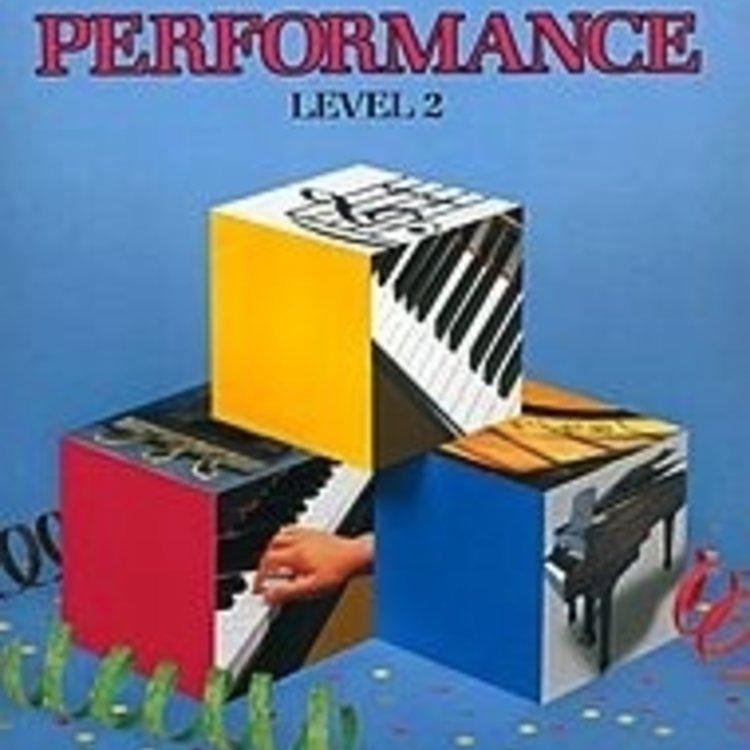 Bastien Bastien Piano Basics, Level 2, Performance