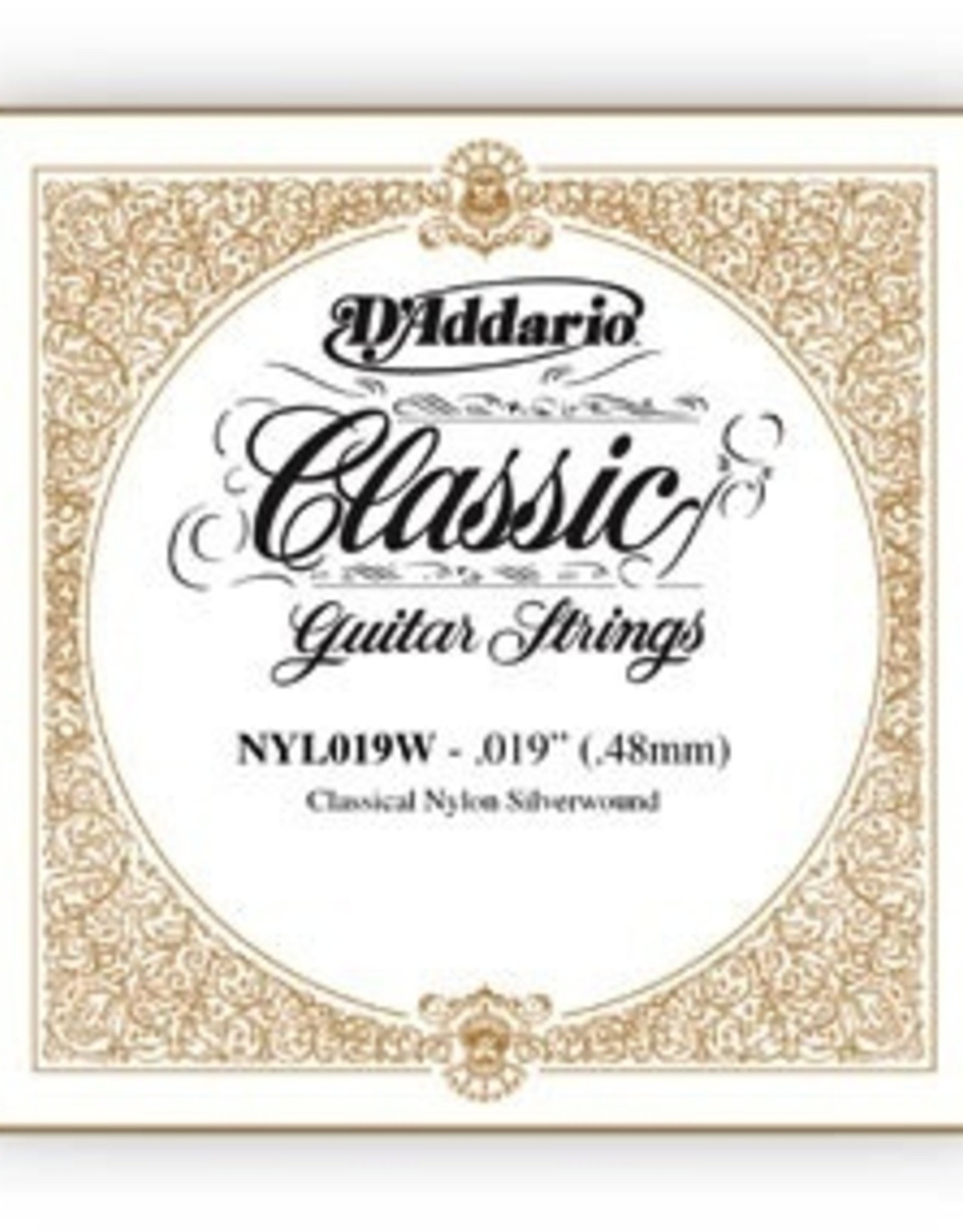 D'Addario D'Addario Single Silver Wound .050