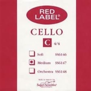 Red Label Cello C 4/4 MD Single String