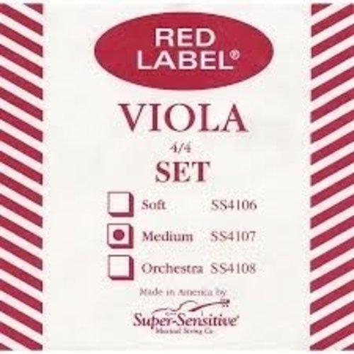 Super Sensitive Red Label Viola Set 4/4 MD
