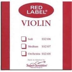Red Label Violin D String 4/4