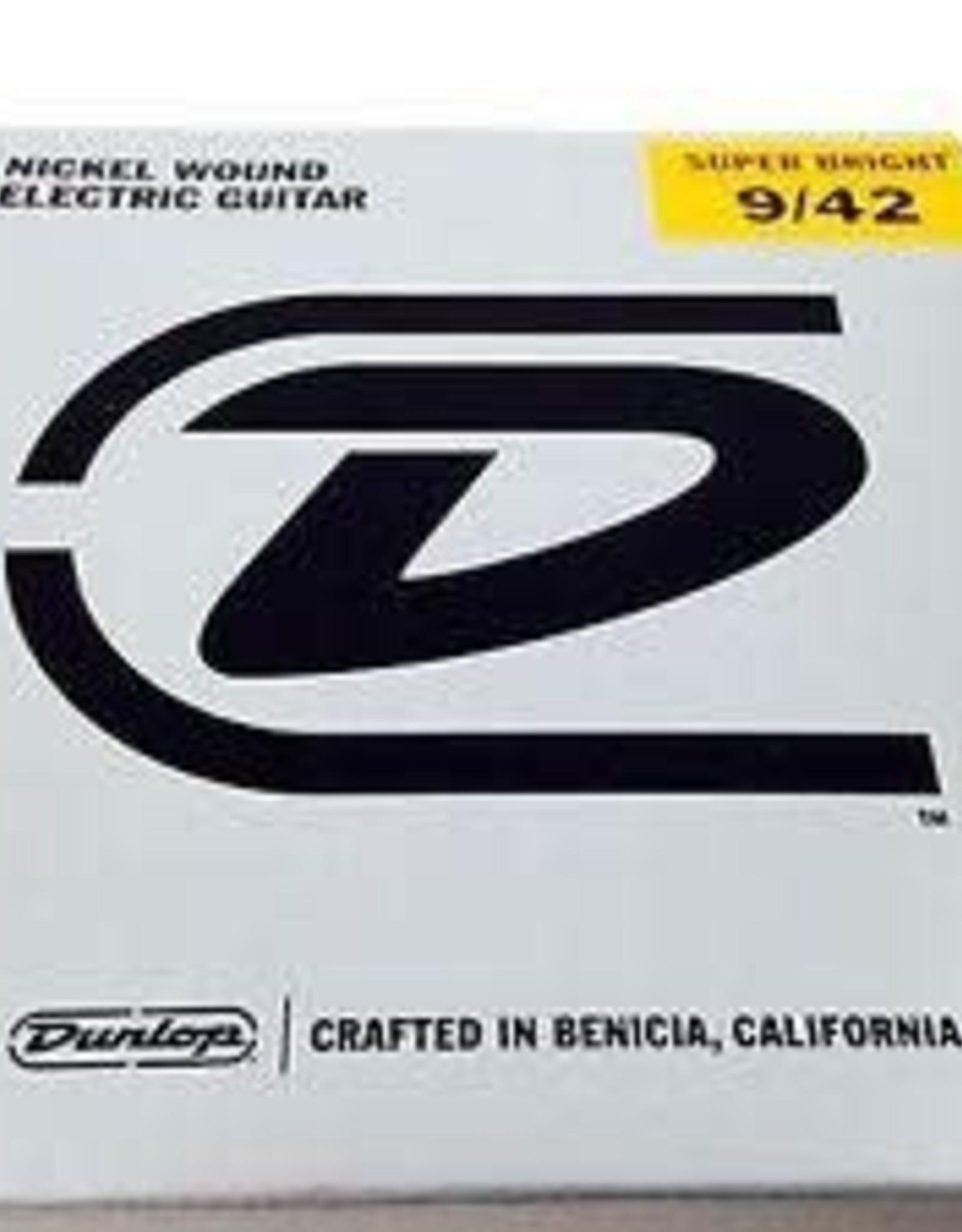 Dunlop Dunlop Super Bright Electric Strings - .009-.042 Light