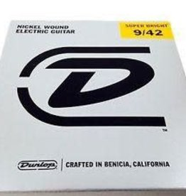 Dunlop Dunlop Super Bright Electric Strings - .009-.042 Light